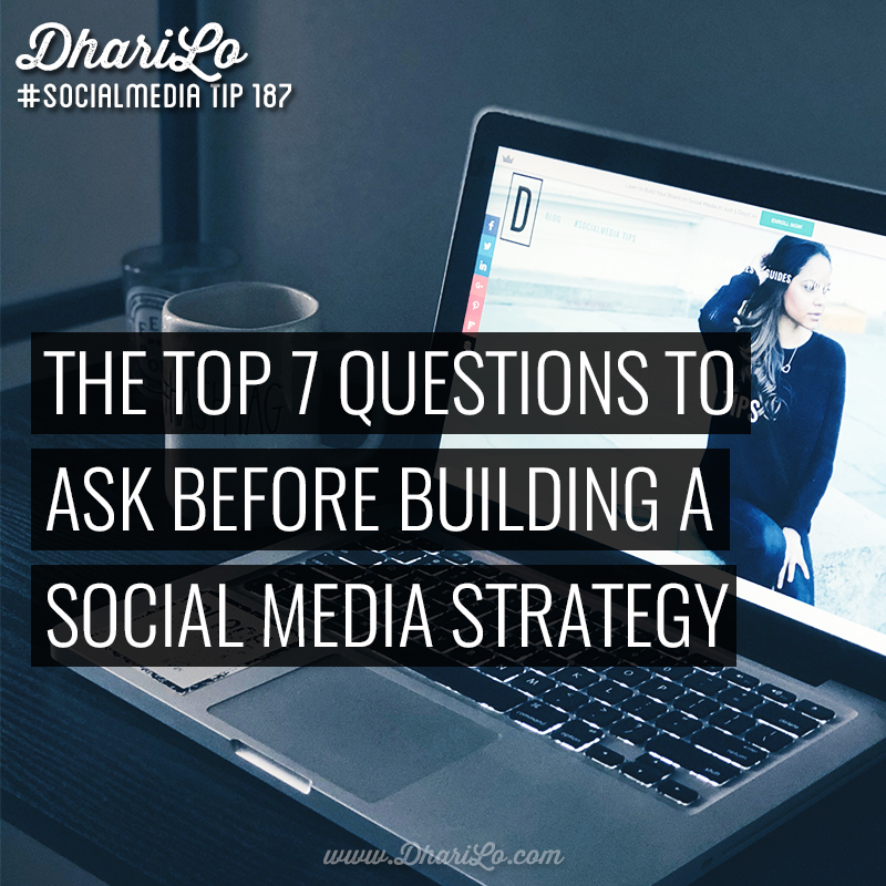 7 questions to ask and answer before building your social for Questions to ask a builder